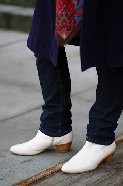 Michael Cepress Designs seattle street style fashion it's my darlin' white leather boots