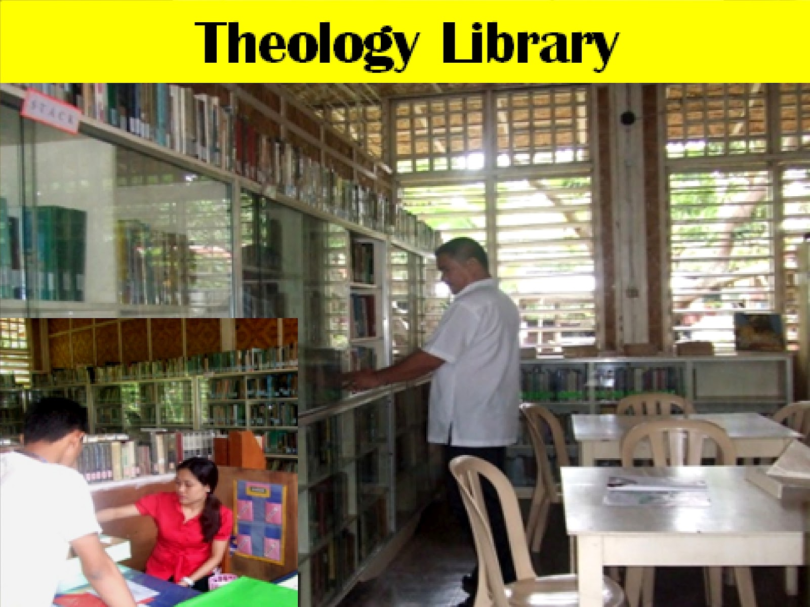 College Of Theology Library