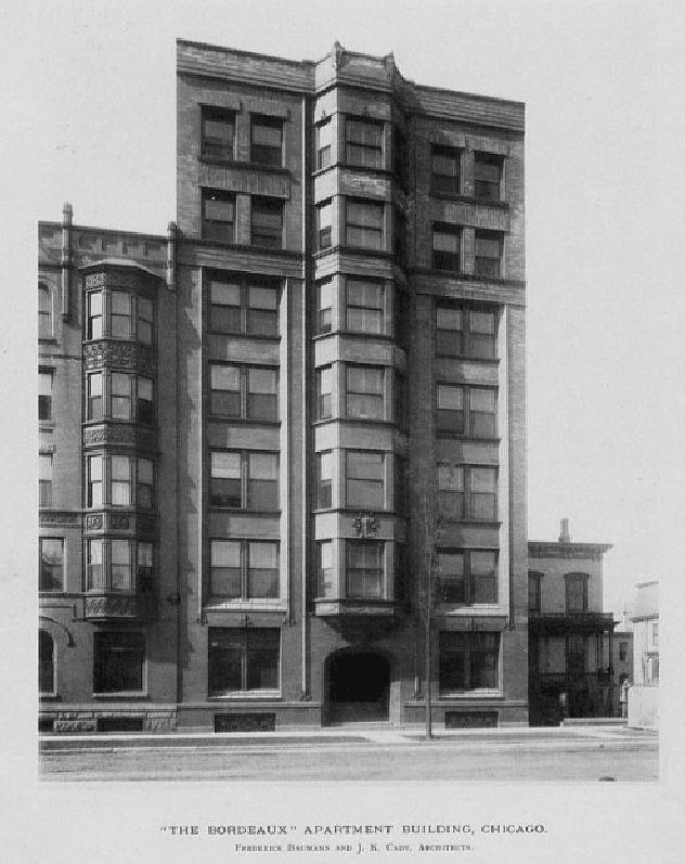 1140 S Michigan Ave Chicago 1892 Classic American