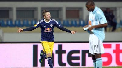 Slovan Bratislava 2 - 3 Salzburg (2)