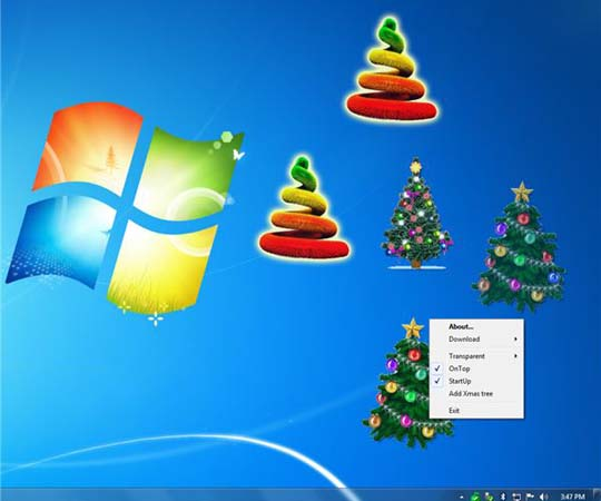 animated christmas wallpaper for windows 7 free download : Free Funny ...