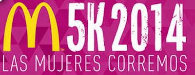 5k McDonald´s para mujeres en Montevideo (Uruguay, 19/oct/2014)