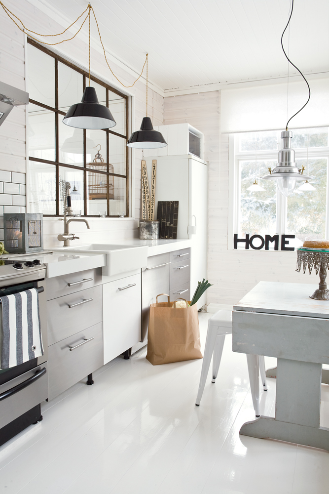 casa haus english white modern industrial kitchen