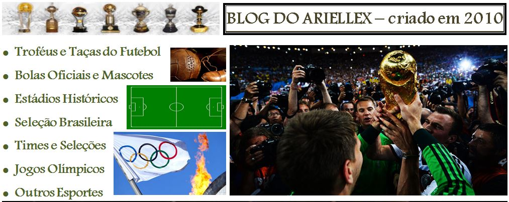Troféus do Futebol: Blog do Ariellex