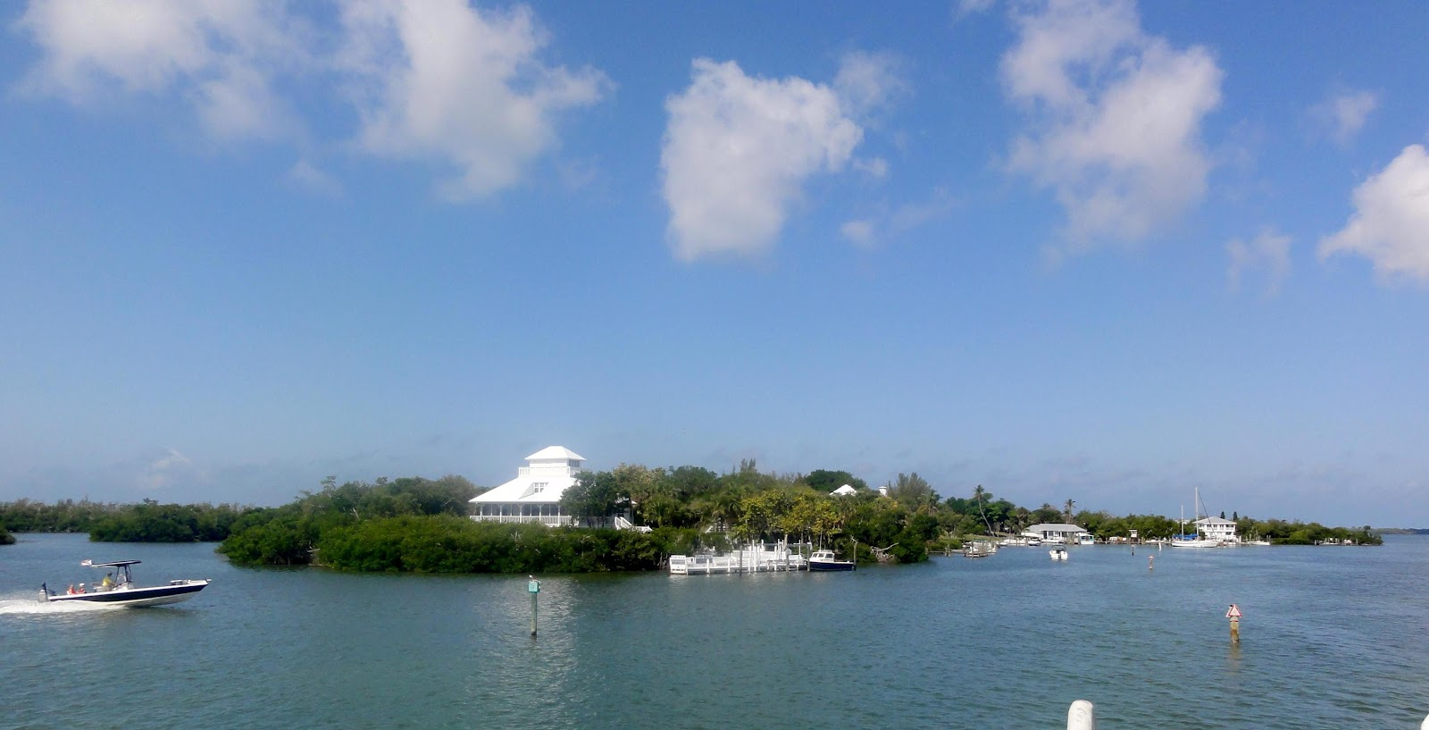 out to Cabbage Key to try
