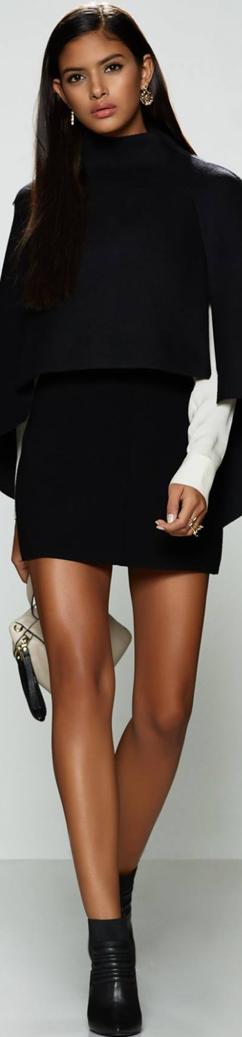 MILLY Fitted Cape