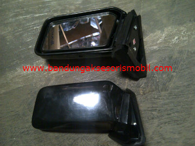 Kaca Spion Red Zone Hitam | BAM