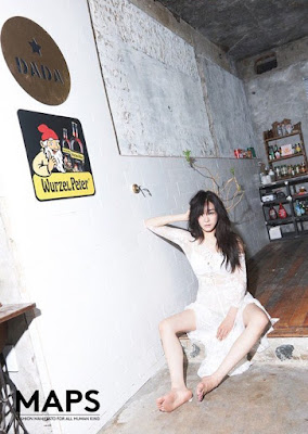 Tiffany Hwang SNSD - Maps Magazine August Issue 2015