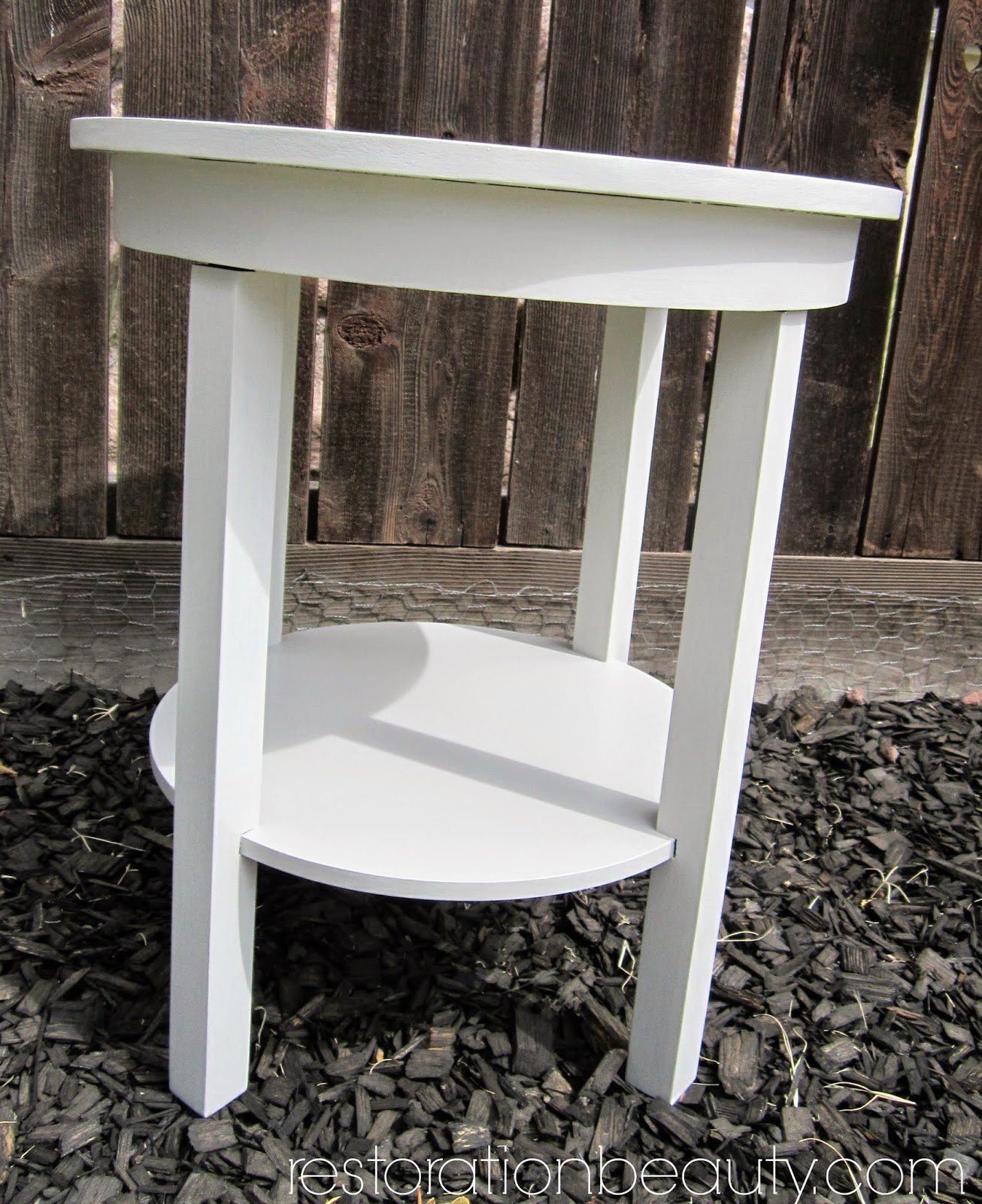 End Table Paint Ideas Restoration Beauty End Table Makeover Using Diy Chalk Paint