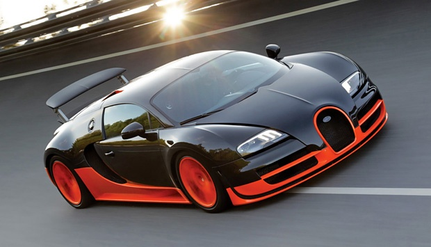 Etonnant Car Germany Made Bugatti Veyron Super Sport Is The Fastest Car In The World  To Date. 8000 Cc Power Plant With A 1,200 Horsepower, Can Reach Speeds Of  430 ...