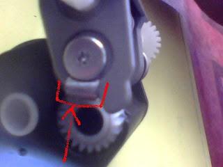 Epson TX121 Kertas Tidak Bisa Masuk dan Blink