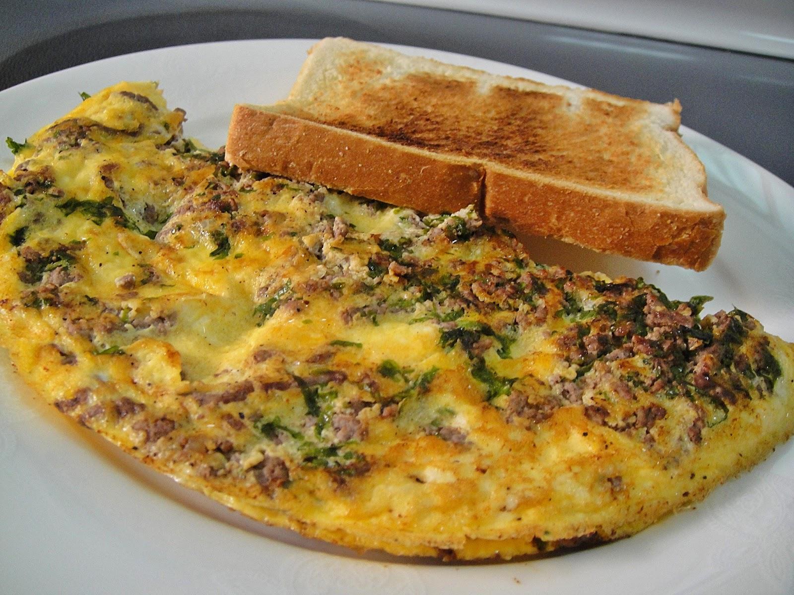 Maryams culinary wonders 350 iraqi meat omelette iraqi meat omelette forumfinder Images