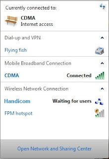 cara membuat hotspot dengan modem usb di windows7 sendiri