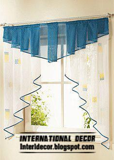 interior design 2014 small curtains models for kitchens in
