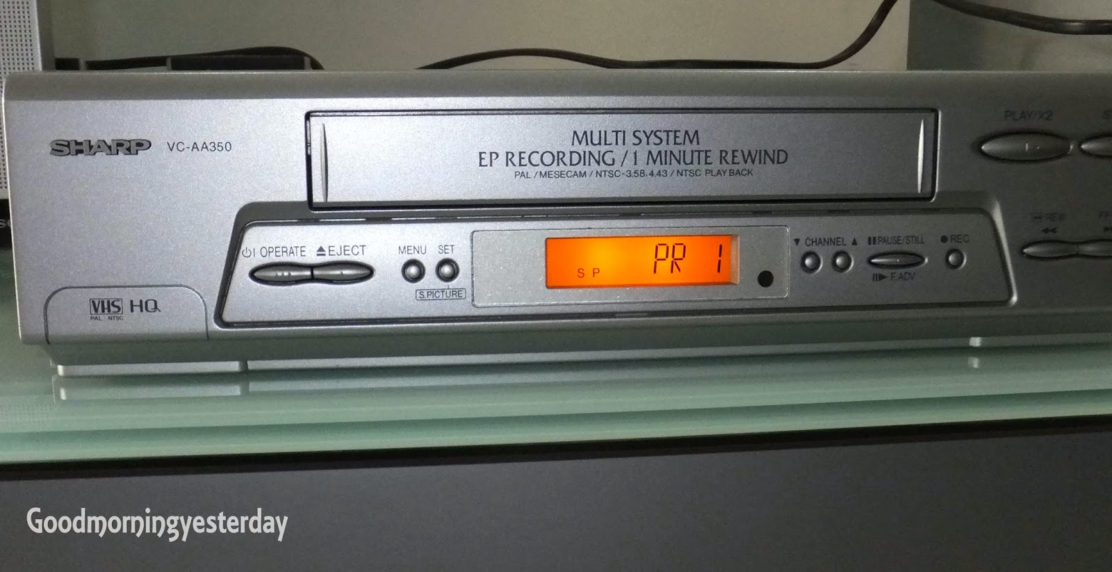 vhs converter to dvd machine