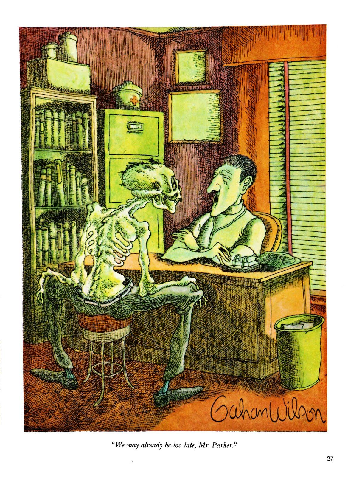 The Armchair Critic The Best Of Gahan Wilson