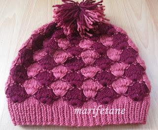 yeni örgü şapka bere