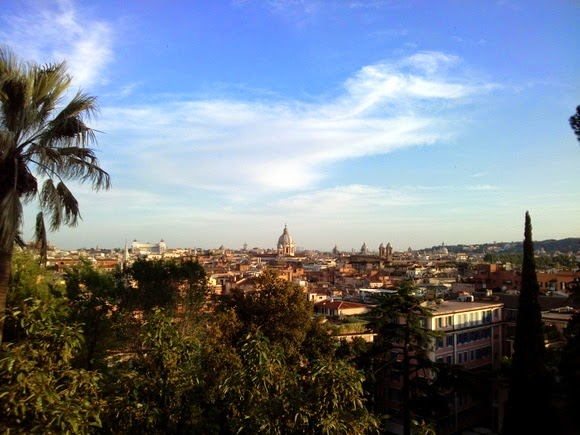 Villa Borghese viewpoint