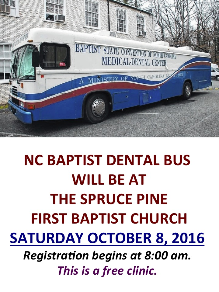 NC BAPTIST DENTAL BUS