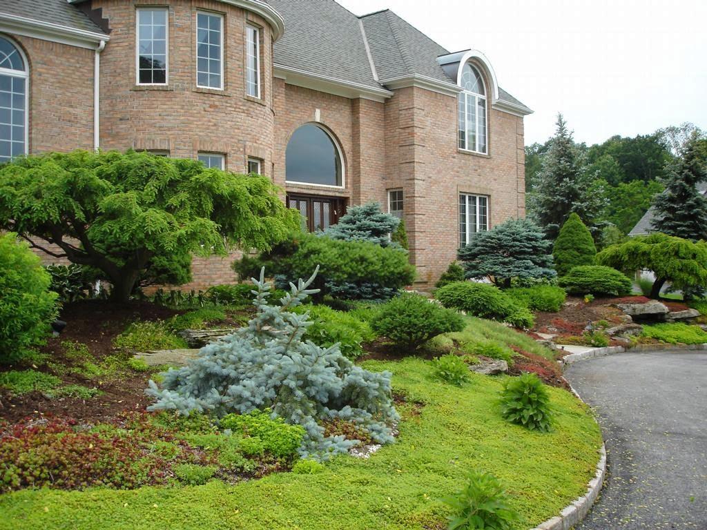 Formal Front Yard Garden Designjpeg