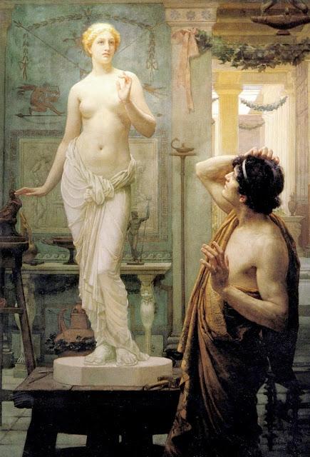 pygmalion,galatea,myth painting