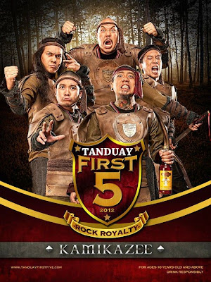 Tanduay First Five 2012: Kamikazee