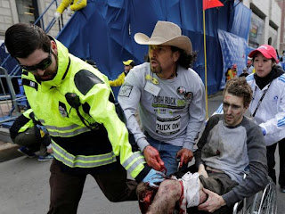 Bomb Blast at Boston Marathon on 16th April 2013