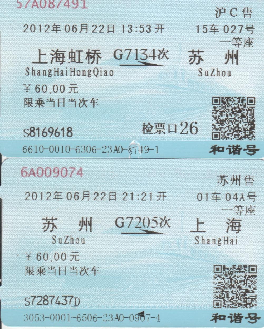 A Sakura Story: China - Bullet Train