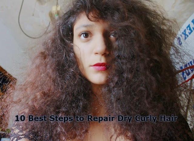 10 Best Steps to Repair Dry Curly Hair