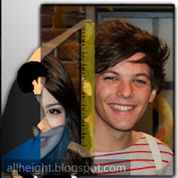 What is the height of Louis Tomlinson?