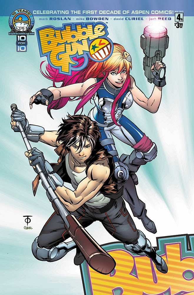 Preview: BUBBLEGUN #4