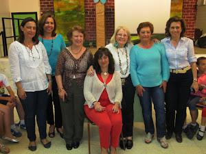 Grupo de profesoras  del C. P. Mediterránero
