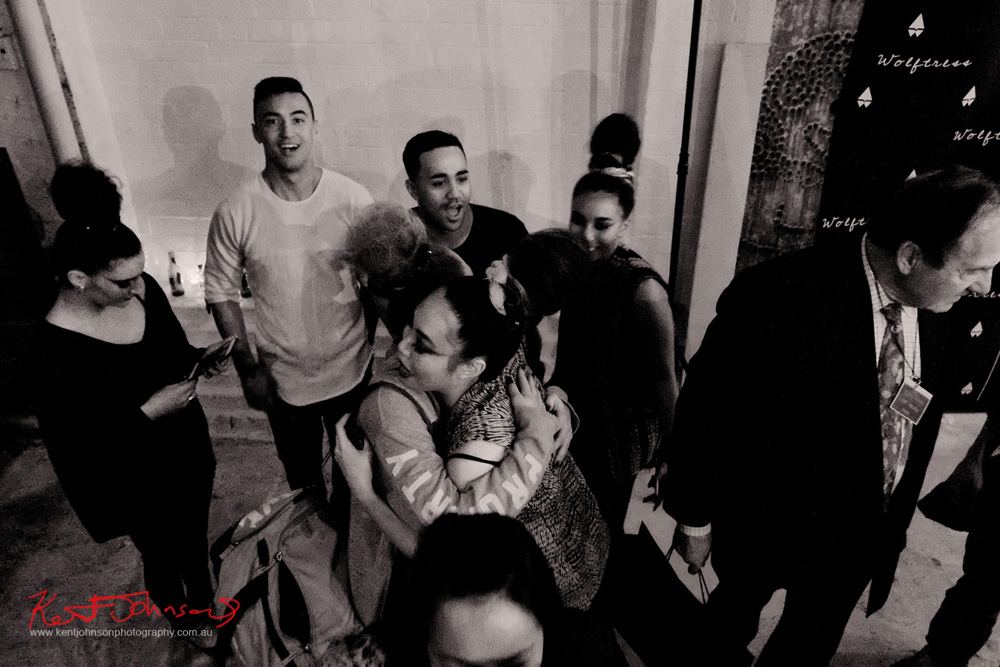 End of the night at a fashion launch party. Unique Sydney Event Photography