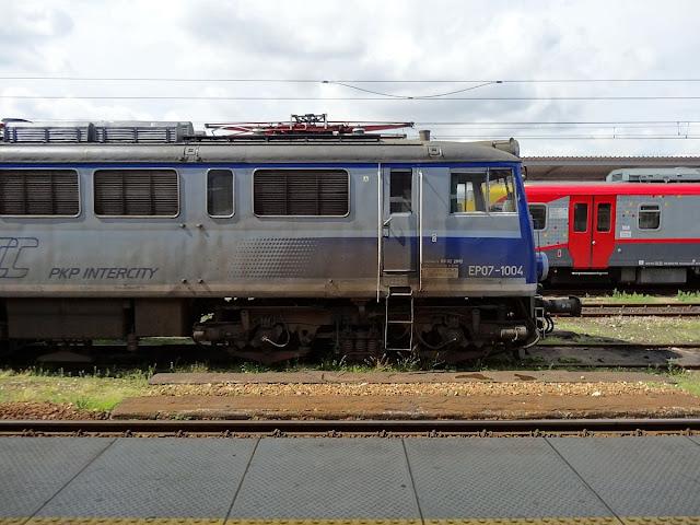 Lokomotywa pasażerska EP07-1004