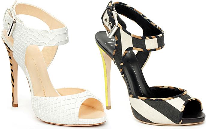 giuseppe zanotti spring 2012 shoes