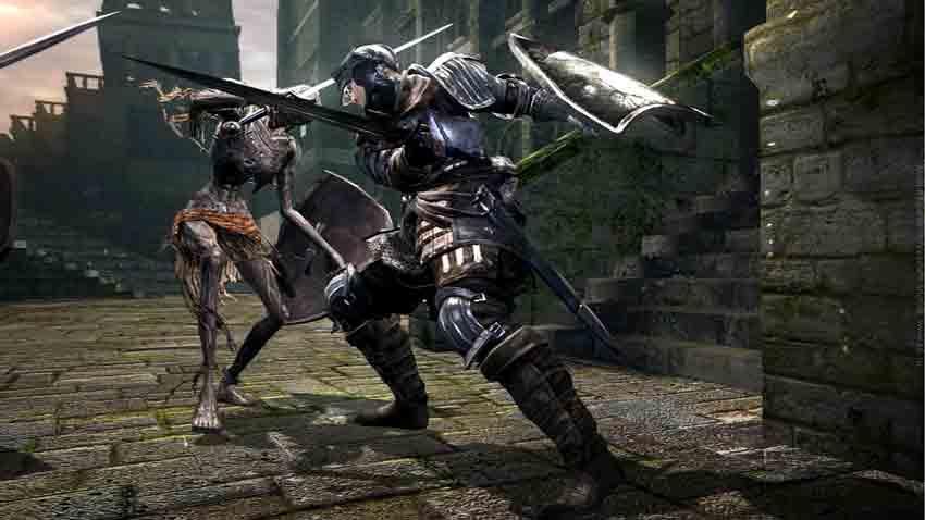 Screen Shot Of Dark Souls Prepare To Die (2012) Full PC Game Free Download At Downloadingzoo.Com