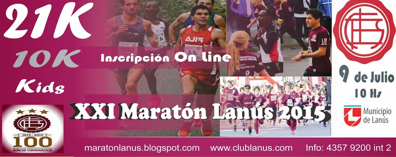 Maratón Ciudad de Lanus 2014