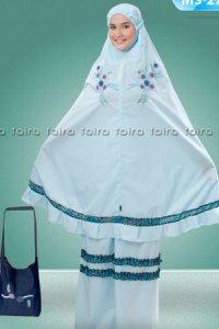Faira Mukena MS 27 - Biru Muda (Toko Jilbab dan Busana Muslimah Terbaru)