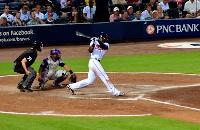 Atlanta Braves game at Turner Field