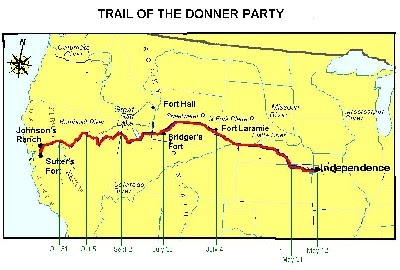 Sweets Of The West: Donner Party Tragedy on