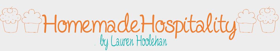 Homemade Hospitality by Lauren Hoolehan