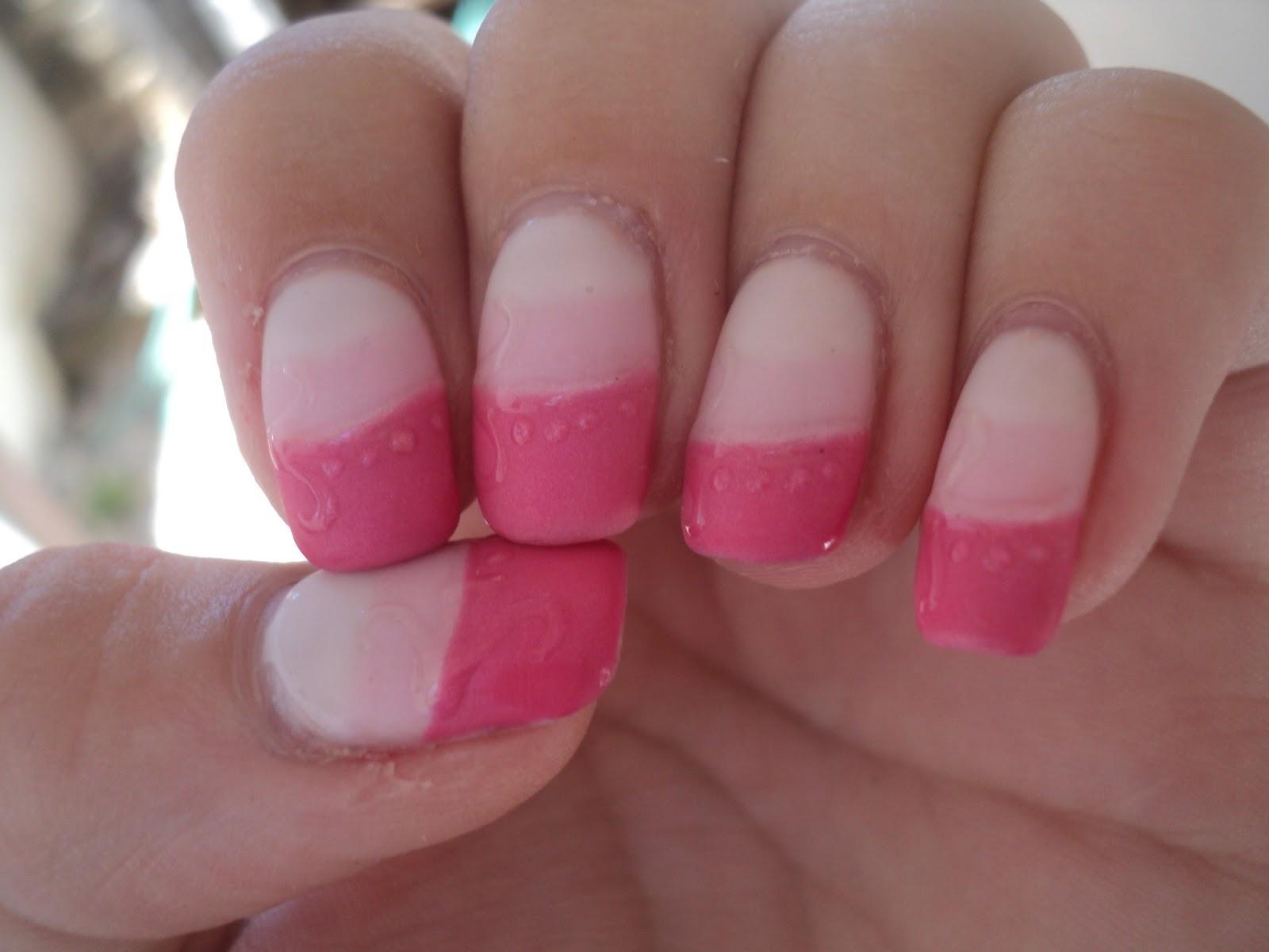 how to make my nail polish matte