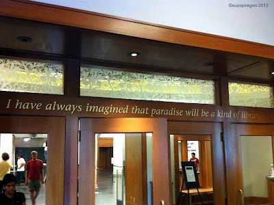 Multnomah County Library Central Branch Lobby