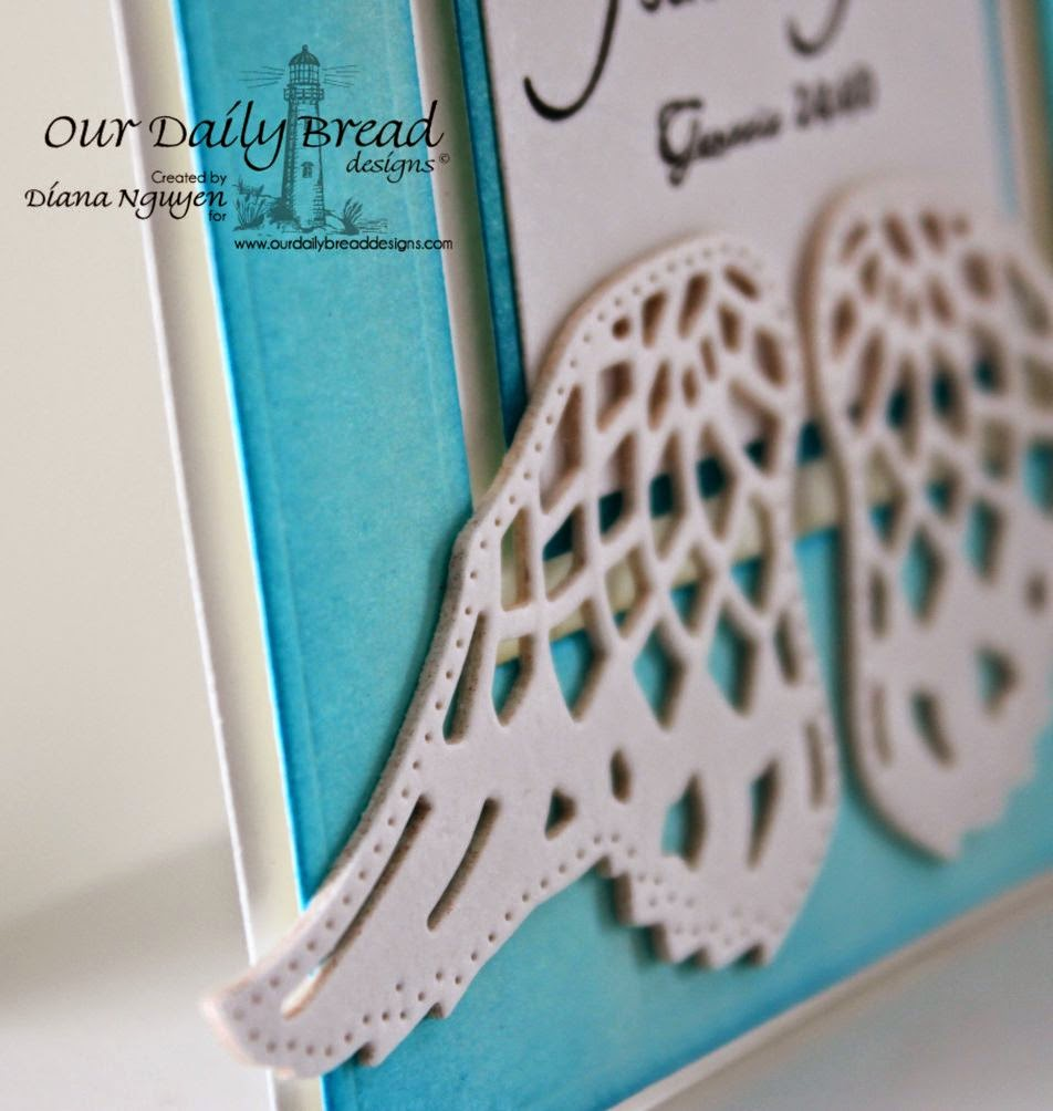 Diana Nguyen, Angel Wings, Our Daily Bread Designs, odbd, card, scripture