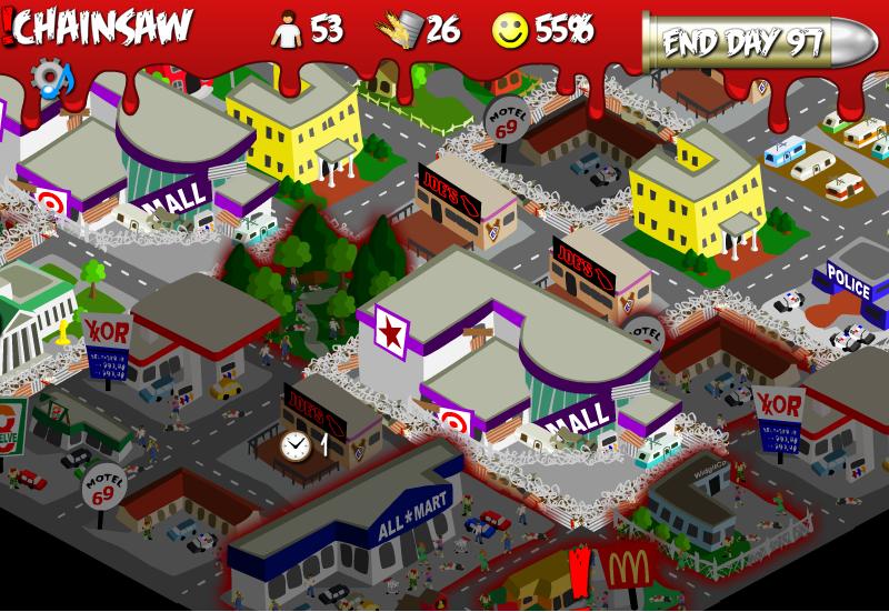 Zombie survival flash game rebuild