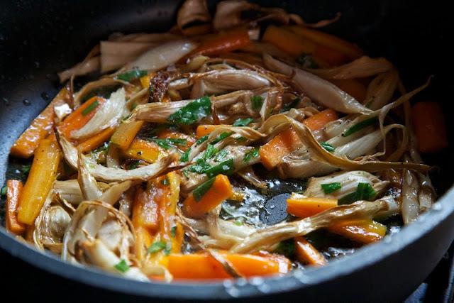 porkkanaa ja fenkolia