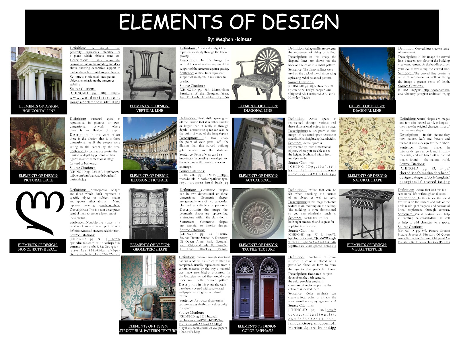 Meghans Interior Design Elements Principles of Desgin
