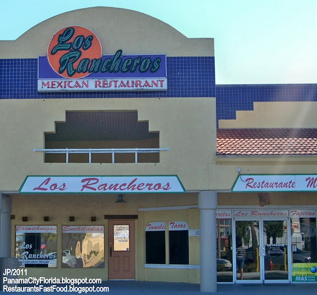 Los Rancheros Mexican Restaurant Panama City Beach Fl