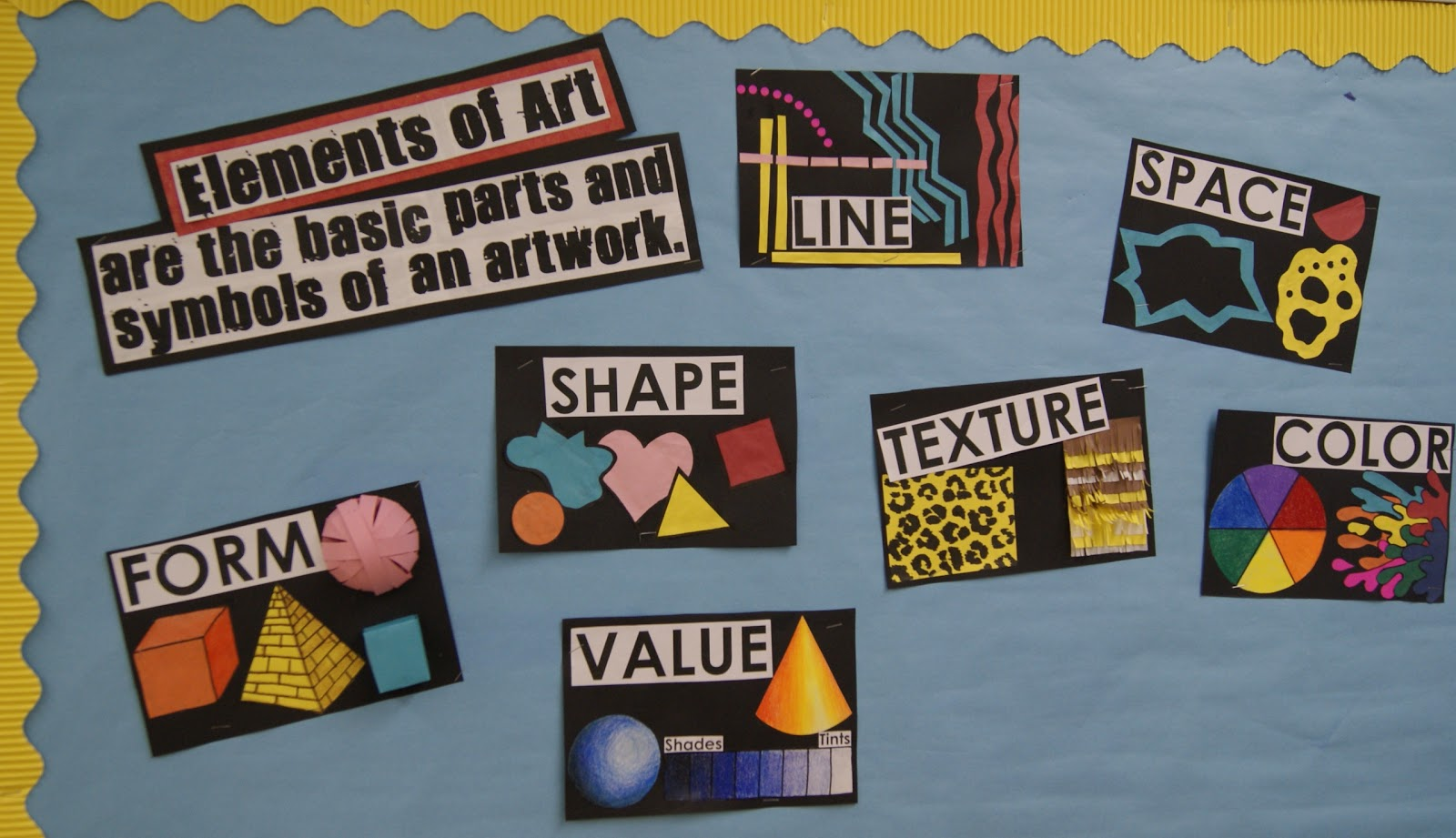 What Are The Seven Elements Of Art : Adventures in middle school art class intro to the