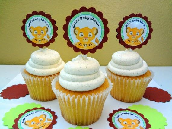 Cupcakes Rey Leon, parte 1